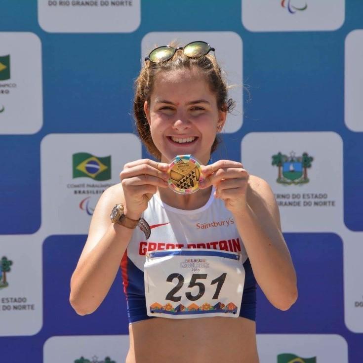 Daphne Schrager -                         Disability Athletics