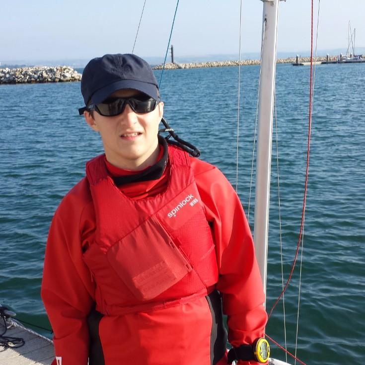 Adam Billany -                         Disability Sailing