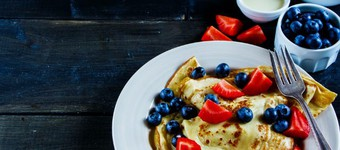 Perfect Pancakes And Five Health-Boosting Fillings Recipe