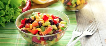 Nutritious Kidney Bean And Raisin Salad Recipe