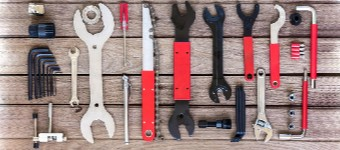 Mountain Bike Maintenance Tools