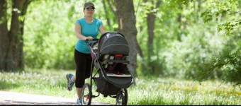 Stay Fit While Running With Your Baby
