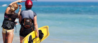 Your First Kite Surfing Course