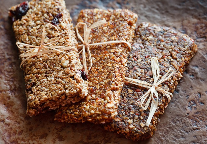 An image of High Carb Malty Fruit Energy Bar Recipe