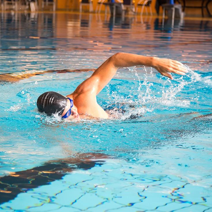 Beginner Pool Swimming