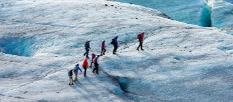 Ice Trekking And Snowshoeing In Iceland