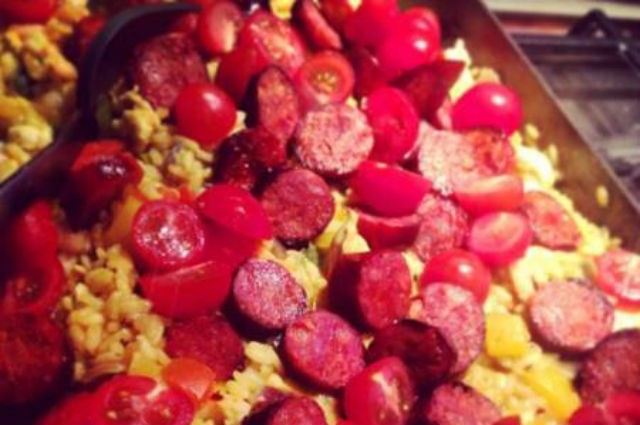 An image of Healthy Chef's Spanish Paella Recipe