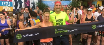THERE'S A REAL BUZZ ABOUT THE 2018 RICHMOND RUNFEST