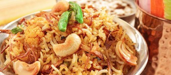 Fibre-Rich Nutty Fried Rice Recipe