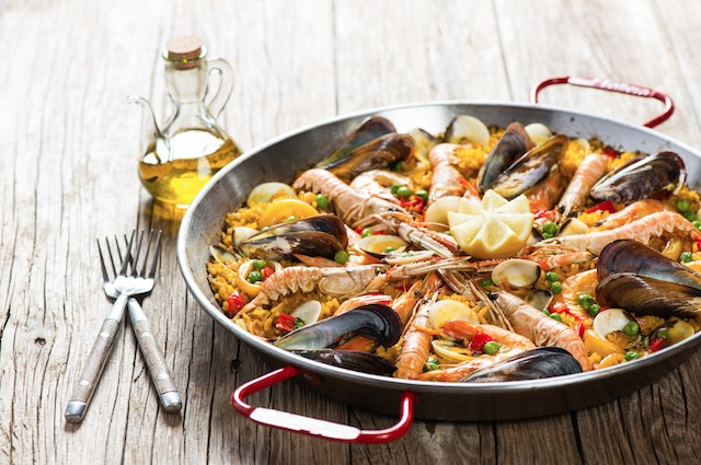 An image of Quick Seafood Paella Recipe