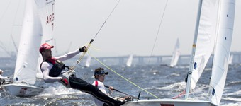 Dinghy Sailing At The Oympic Games