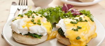 Low Fat Easy Eggs Florentine Recipe
