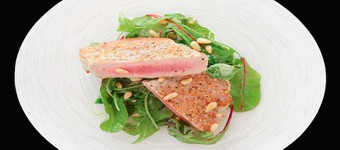 Healthy Warm Salad Of Seared Tuna With White Beans Recipe