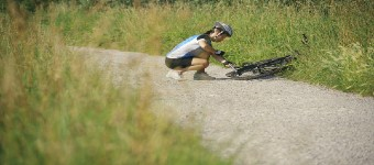 Emergency Repairs To A Mountain Bike