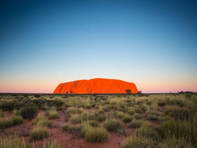 Watch the sunset over Uluru (Ayers Rock)