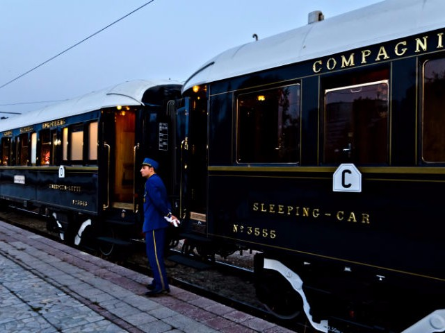 Ride on the Orient Express