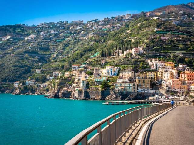 The Amalfi Drive, Italy
