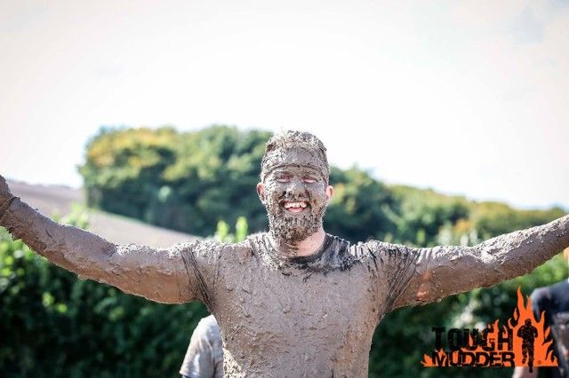 Photo opportunities at Tough Mudder.