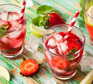 Strawberry Mint Vitamin Rush