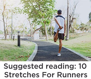 10 stretches for runners