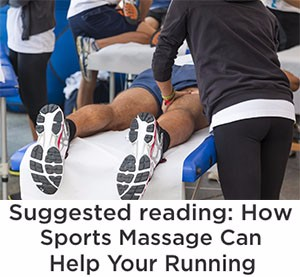 How sports massage can help your running
